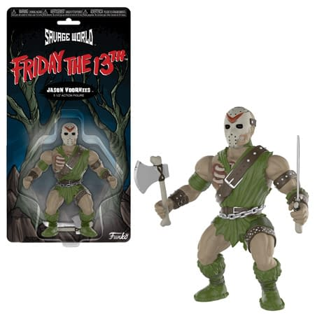 Horror Savage World Funko Jason Figure
