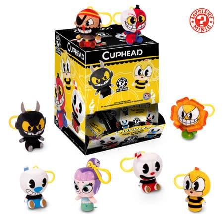 Funko Cuphead Plush Keychains 1
