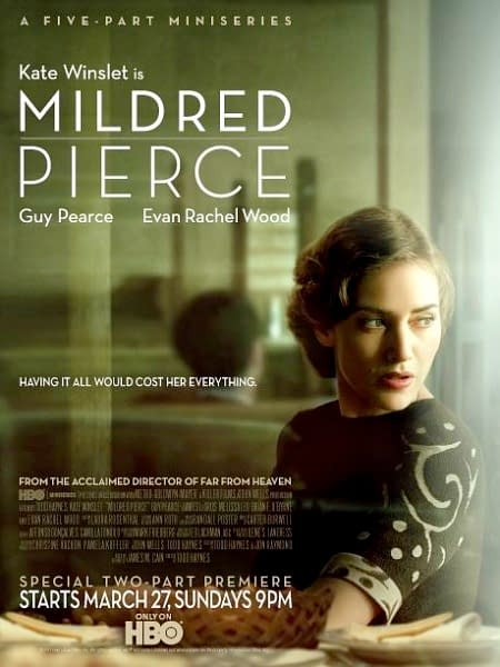 Over Half An Hour Of Mildred Pierce Behind-The-Scenes And Interview Clips