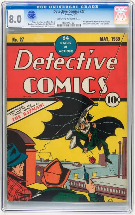 Could An 8.0 Detective Comics #27 Break The World Record?