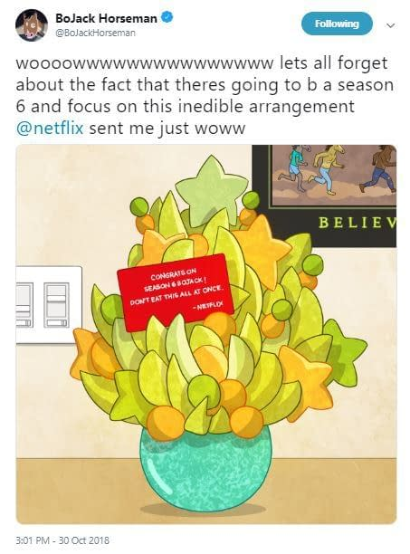 BoJack Horseman Season 6 Gets Go-Ahead from Netflix