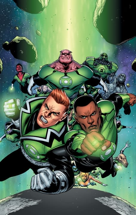 DC Relaunch: Red Lanterns 1, Green Lantern Corps 1 and New Guardians 1 Covers