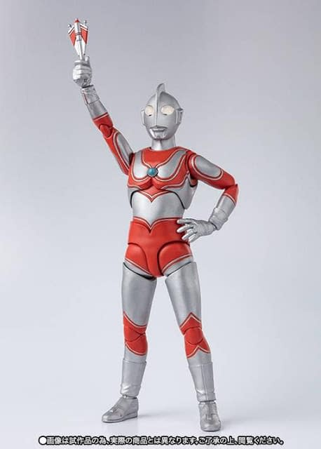 Ultraman Jack Coming From S.H. Figuarts In April