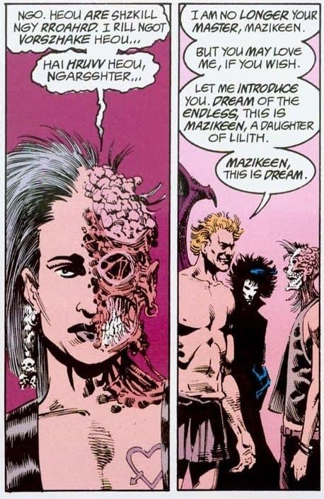 "Neil Gaiman Thinks a Mazikeen Prequel for Sandman Presents is a ""Brilliant Idea"""