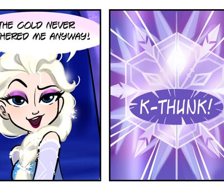 Amy Mebberson Goes From Disney Fanfic To Official Ongoing Frozen Comic Strip From Joe Books