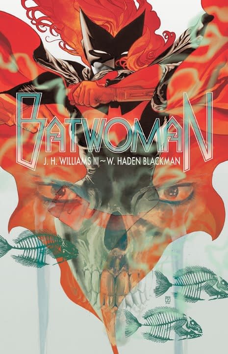DC Relaunch: Cover To Batwoman #1