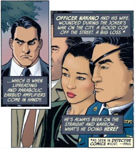 Harvey Bullock, Police Commissioner Again? Detective Comics #1028