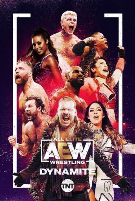 A poster for AEW Dynamite Season 2