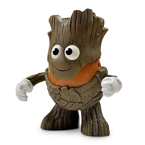 Groot And Star Lord Are Immortalized As Potatoes At The Disney Store