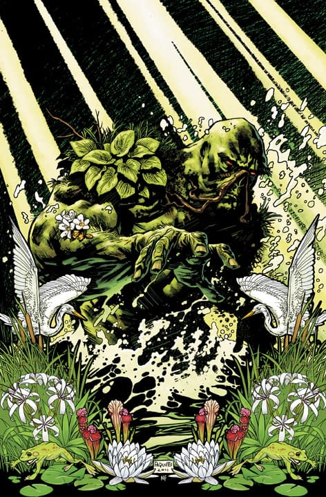 DC Relaunch: Cover To Swamp Thing #1