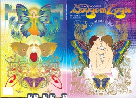 Cover To Alan Moore's Dodgem Logic #4