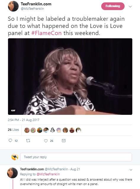 love panel flame con 2017 video
