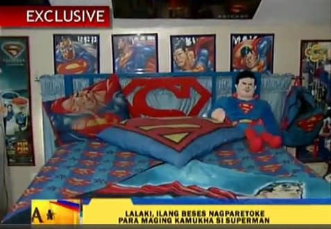 The Man Who Went Under The Knife To Become Superman
