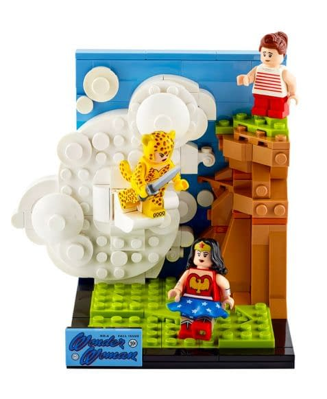 Wonder Woman Goes Retro with Ex-Convention Exclusive LEGO Set