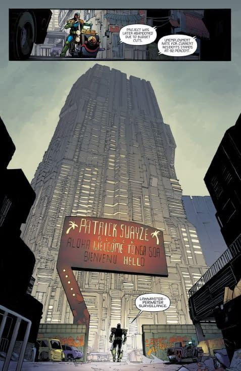 Exclusive Preview – Judge Dredd: Under Siege #1