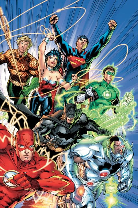 DC Relaunch: Full JLA Art including Flash & Batman Designs, Hawkman #1 With Robinson & Tan, Birds Of Prey #1 Without Gail Simone?