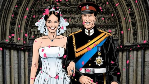 The Royal Wedding Motion Comic Launches Today On iPhone, iPad and Android