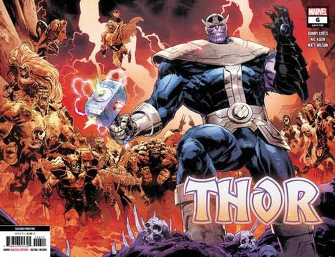 Thor #2 Gets Fifth Printing, Thor #5 and Venom #25 Gets Fourth