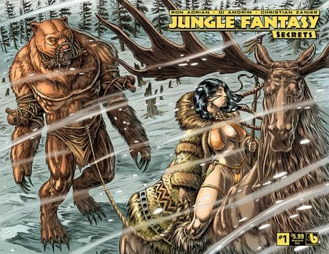 Jungle Fantasy Launches New Secrets in Boundless Solicits for July 2018