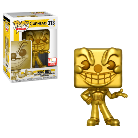 Funko E3 King Dice Cuphead Pop