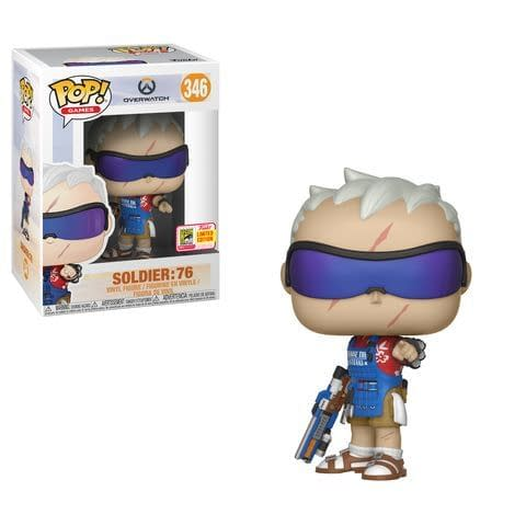 Funko SDCC Exclusive Overwatch Chef Soldier 76