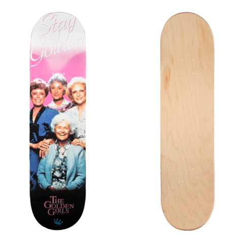 Funko SDCC Golden Girls Skate Deck