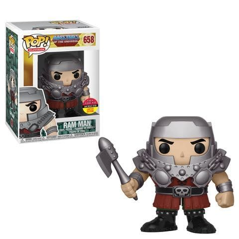 Funko SDCC Masters of the Universe Ram Man Toy Tokyo Pop