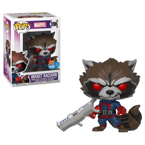 Funko Marvel Rocket Raccoon Previws Exclusive Pop