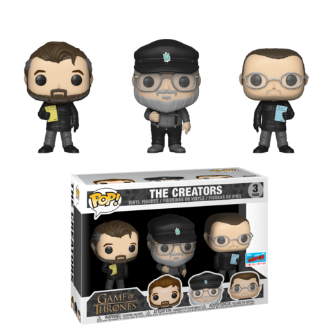 George R. R. Martin, Benioff and Weiss Get FUNKO Pops