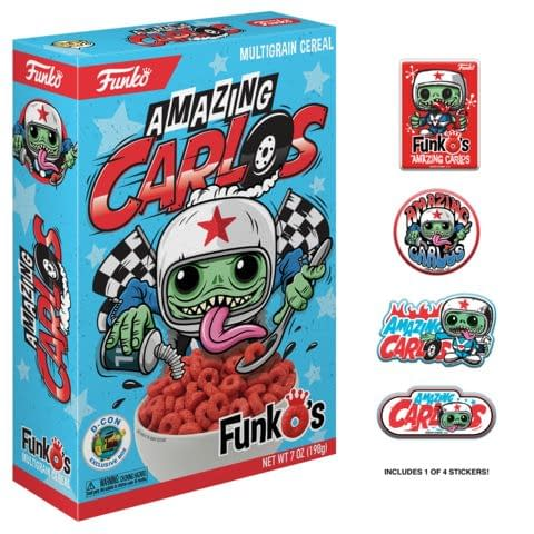 Funko Cereal Amazing Carlos DesignerCon