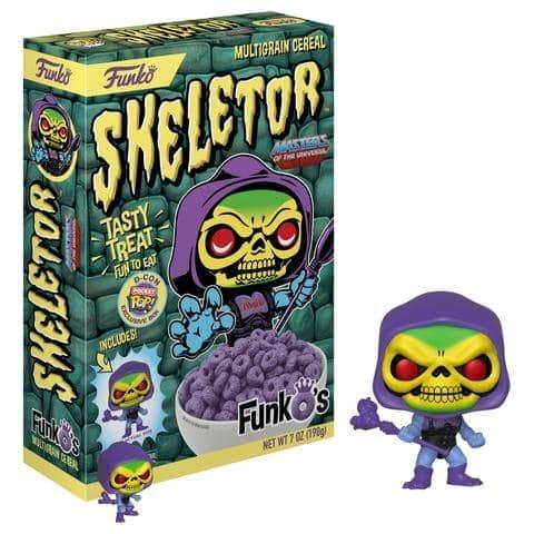 Funko Cereal Skeletor DesigenerCon