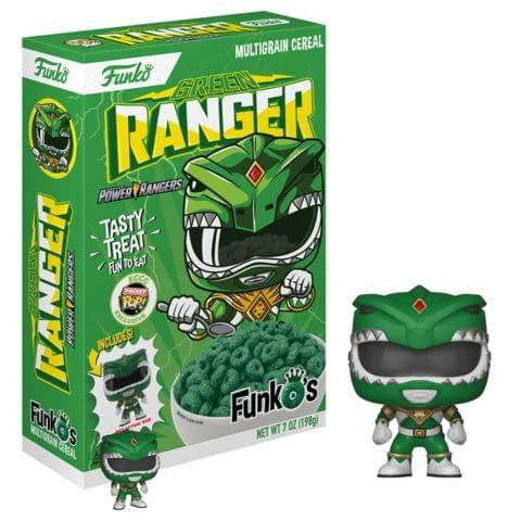 Funko ECCC Green Ranger Cereal FYE