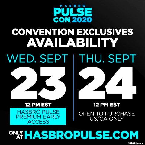 Hasbro Announces Premium Early Access for PulseCon