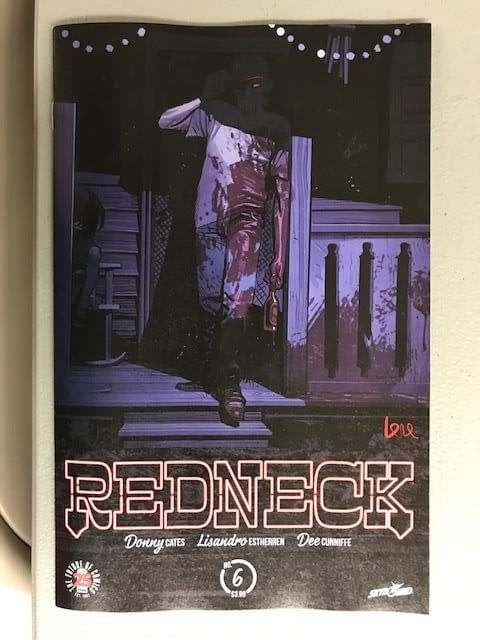 """Now Redneck #6 Gets A """"Pink Signature"""" Edition From Image Comics"""