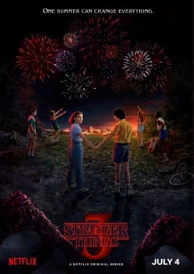 "Stranger Things 3: Be There July 4th ""When Blue and Yellow Meet In The West"" (VIDEO)"