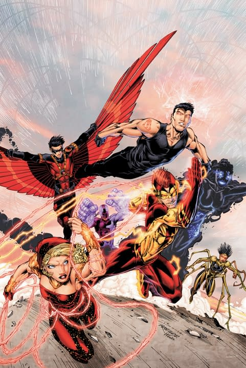 DC Relaunch: Cover To Teen Titans #1