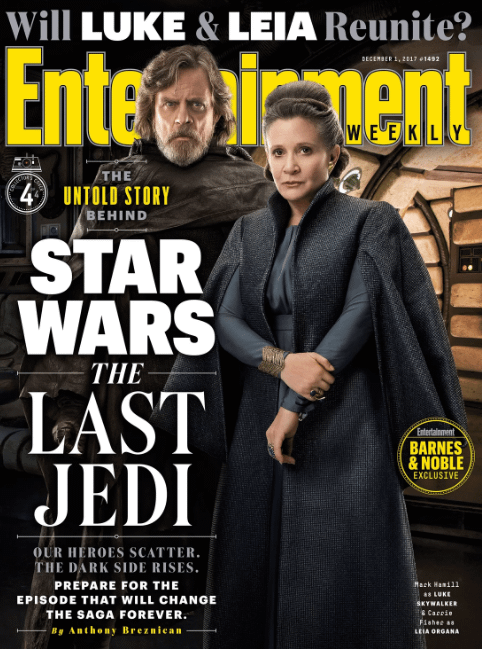 Star Wars: The Last Jedi – Will We See Luke And Leia Reunite?