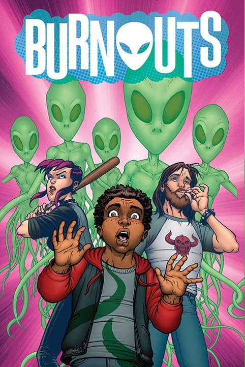 Image Comics Previews: Burnoutsby Dennis Culver and Geoffo,Bully Warsby Skottie Young and Aaron Conley