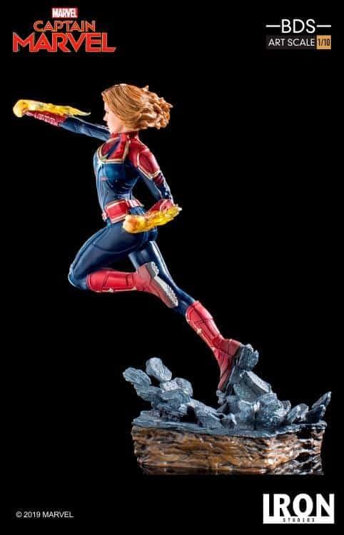 Captain Marvel Iron Studios Statue 6