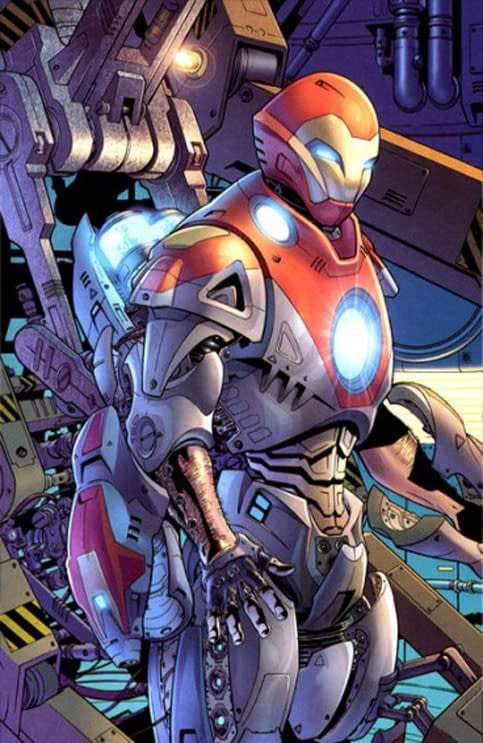 Marvel Launches Ultimate Comics Iron Man From Nathan Edmondson And Matteo Buffagni In October