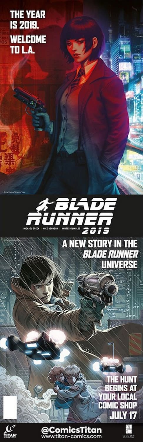 What Stanley 'Artgerm' Lau is FOC'ing Doing For Blade Runner 2019 and Vampirella #1