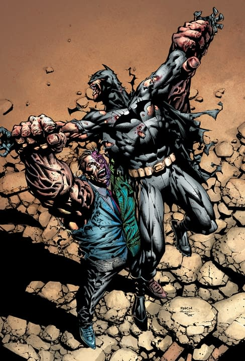Paul Jenkins On Being The Other Half Of David Finch's The Dark Knight