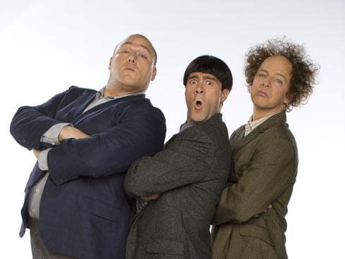 First Full Shot Of Larry, Curly And Moe In The Farrelly Brothers' Three Stooges Movie