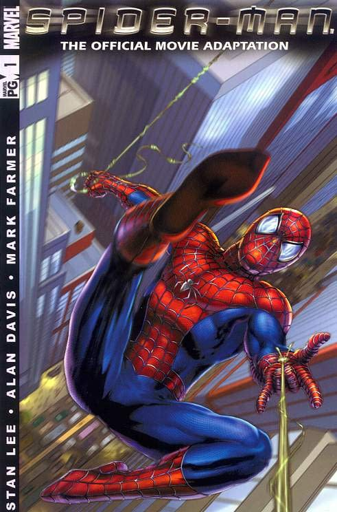 Spider-Man The Official Movie Adaptation #1 Cover