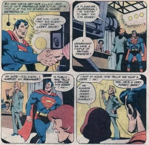 As Superman Calls Himself Sillyman, A Look Back at Funnyman