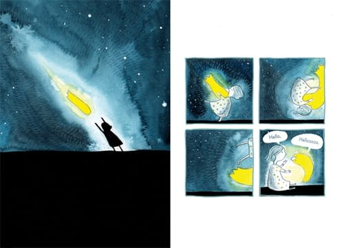 In A Jar's Deborah Marcero Creates New Early Reader SciFi Graphic Novel Series, Haylee and Comet