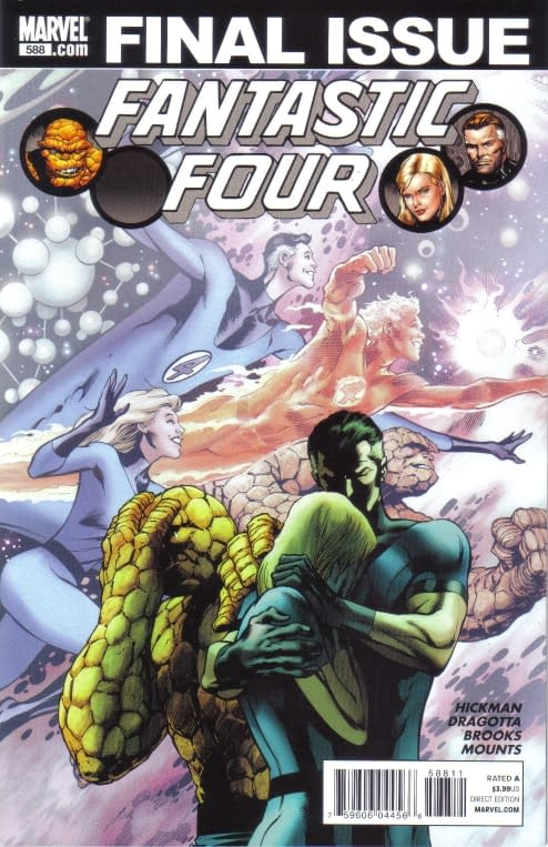Wednesday Comic Reviews: Fantastic Four 588 and Amazing Spider-Man 655