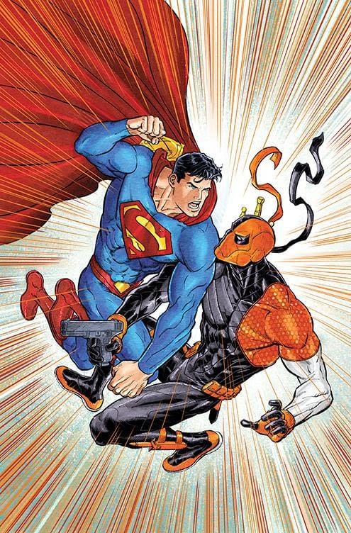 James Bonny And Tyler Kirkham See Deathstroke Take Over Superman #31 And #32