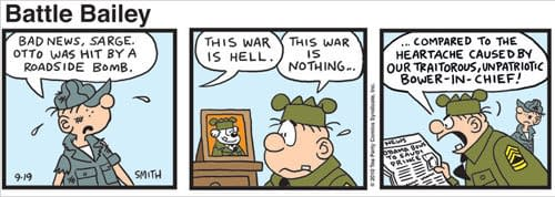Now Tea Party Takes Over Comic Strips