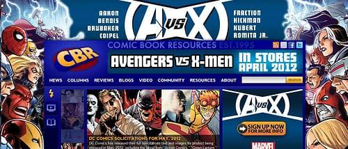 Marvel Steps Up Advertising For Avengers Vs X-Men